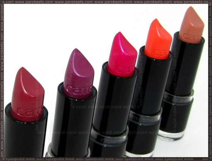 Catrice Ultimate Colour lipsticks by Parokeets