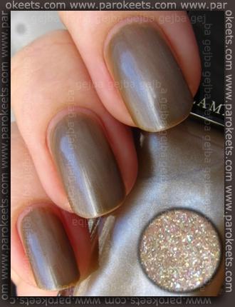 Illamasqua: Toxic Nature Bacterium nail polish swatch by Parokeets