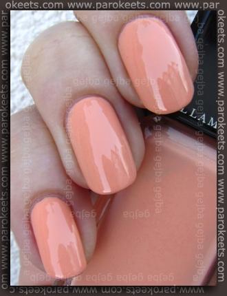 Illamasqua: Toxic Nature Purity nail polish swatch by Parokeets