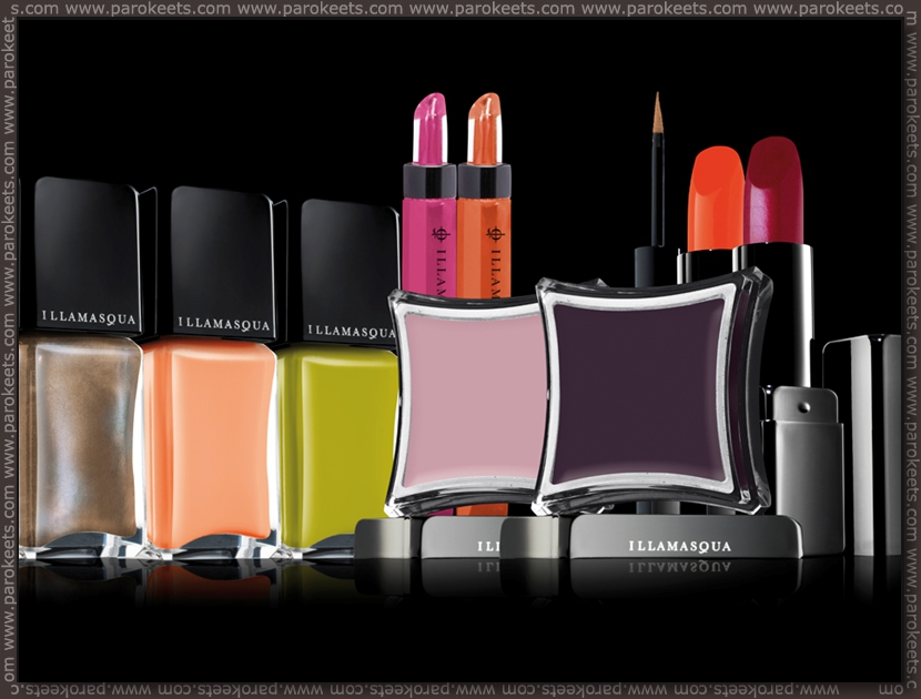 Illamasqua: Toxic Nature products promo