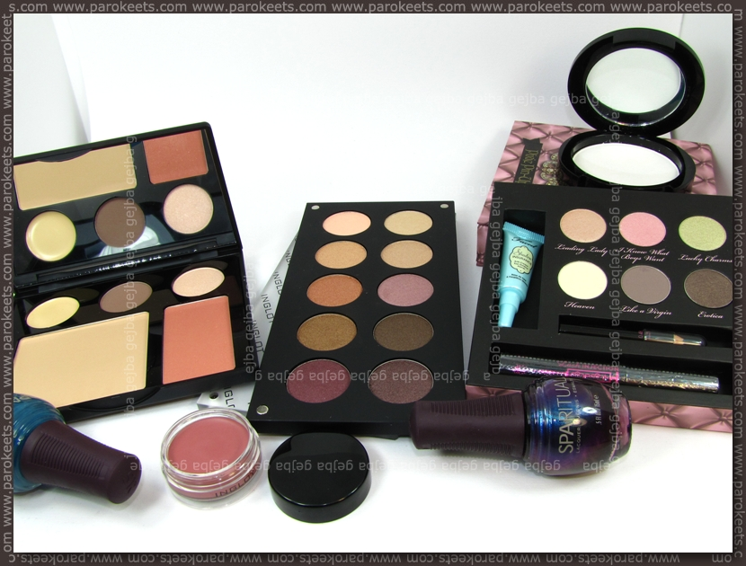 Zagreb haul: Inglot, SpaRitual, Too Faced by Parokeets