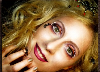 Inspirational make up: Illamasqua - Toxic Nature by Maestra