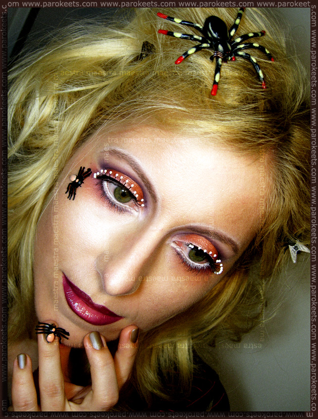 Inspirational make up: Illamasqua - Toxic Nature by Maestra