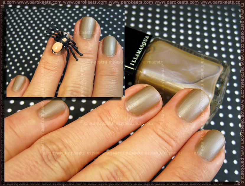 Inspirational manicure: Illamasqua - Toxic Nature Bacterium by Maestra