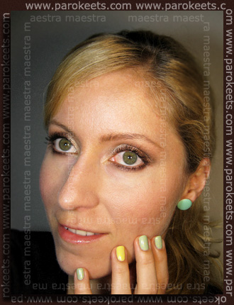 NYX - Loose Pearl Powder: 01 Nude, 19 Mink, 23 Oreh, 06 Black; Essence - Blossoms etc.: Liquid blush make up by Maestra