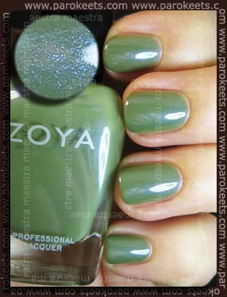 Zoya Intimate - Gemma swatch by Parokeets