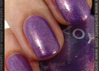 Zoya Intimate - Dannii swatch by Parokeets