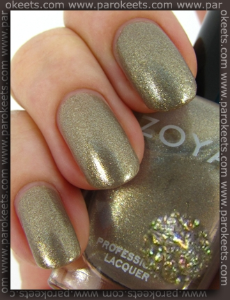 Zoya Intimate - Jules swatch by Parokeets