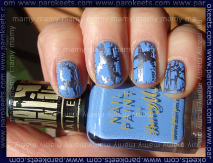 Barry M_Instant_Nail_Effect_Blue_Print_Lavender_Blue_Swatch