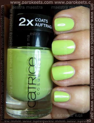 Swatch: Catrice - Easy Peasy, Lemon Squeezy!