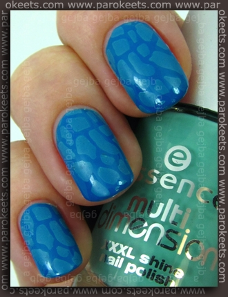Catrice Blue Cara Ciao + Essence Replay, IP konadicure