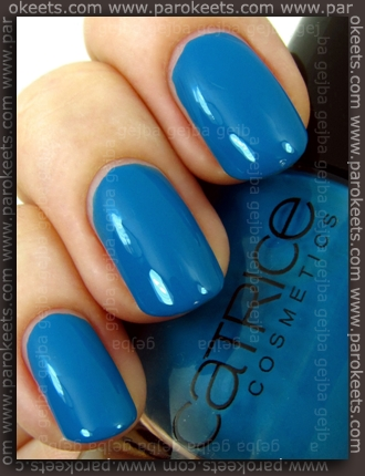 Catrice Blue Cara Ciao swatch by Parokeets