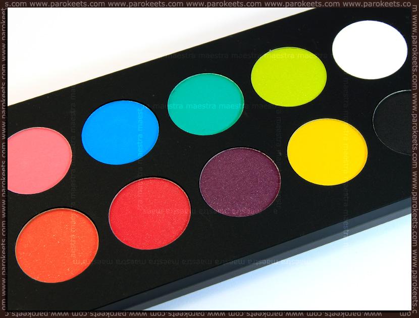 Inglot Freedom System Eyeshadow (round): AMC 63, AMC 60, AMC 72, AMC 50, AMC 51, AMC 59, Matte 373, Matte 372, Matte 371, Matte 362