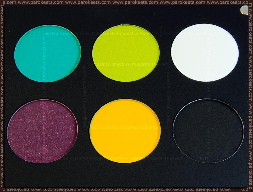 Inglot Freedom System Eyeshadow (round): AMC 63, AMC 60, AMC 72, AMC 59, Matte 373, Matte 372
