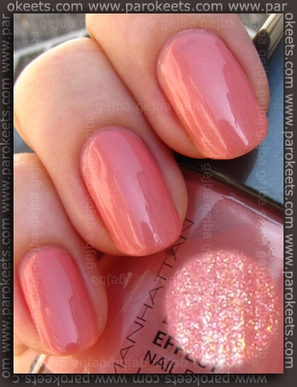 Manhattan nail polish 53R swatch