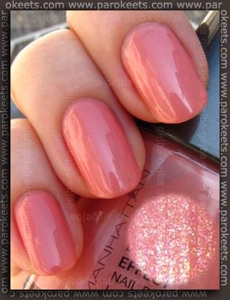 Manhattan nail polish 53R swatch