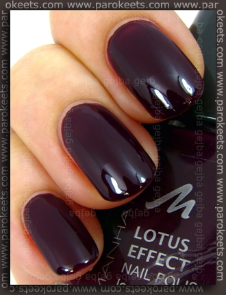 Manhattan nail polish 65W swatch