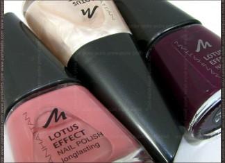 Manhattan nail polishes: 31A, 53R, 65W bottle