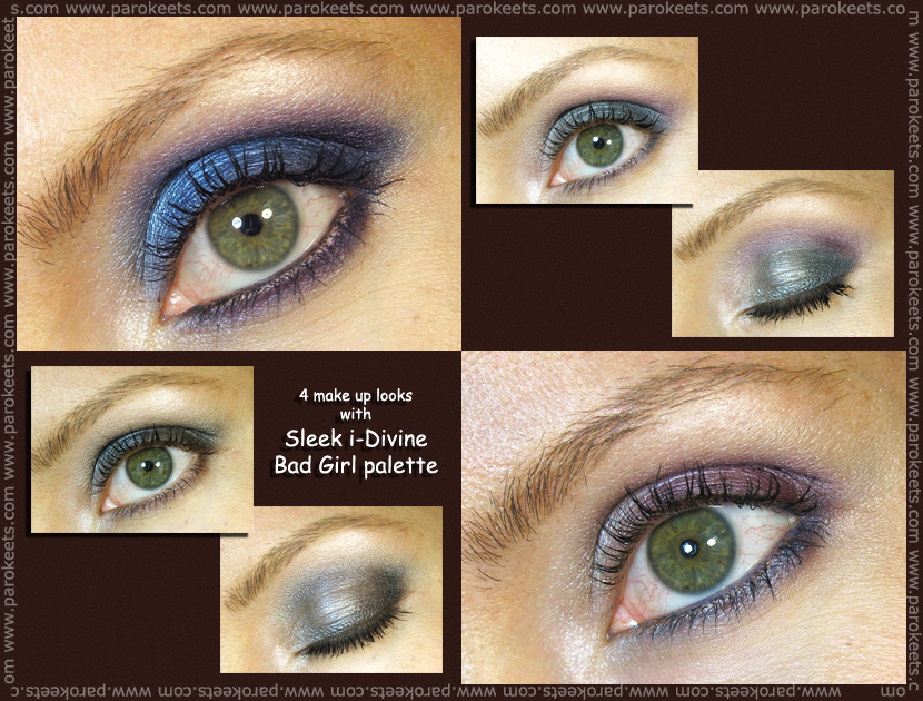 Sleek i-Divine Bad Girl: make up by Maestra