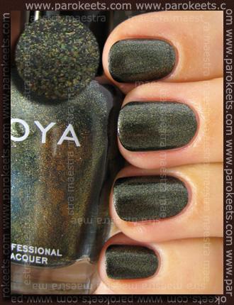 Swatch: Zoya - Edyta (Wicked collection)