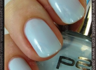 p2 Being In Heaven swatch by Parokeets