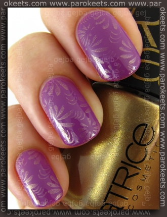 Catrice Papagena - Bird Of Paradise + Amazonian Gold + IP Fauxnad A05