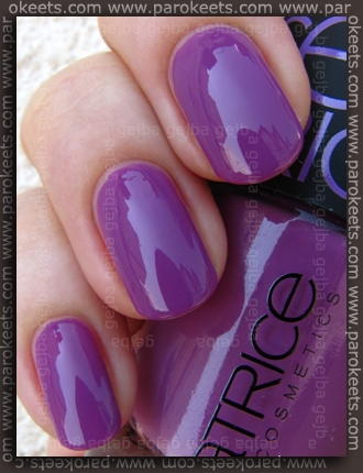 Catrice Papagena - Bird Of Paradise swatch by Parokeets
