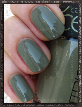 Catrice Papagena - Enter The Undergrowth swatch by Parokeets