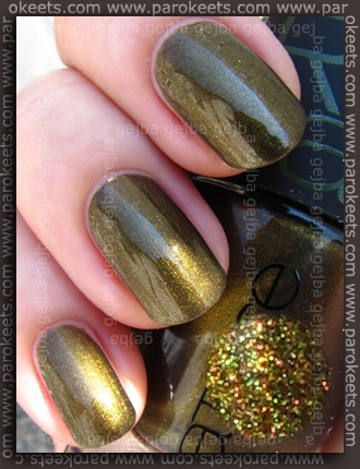 Catrice Papagena - Welcome To The Jungle swatch by Parokeets