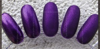 Comparison of Matte Top Coats: Isadora, Essence, Essie, Manhattan swatch