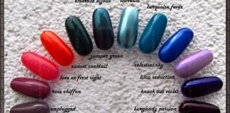 Deborah Pret A Porter nail polishes - nail wheel by Parokeets