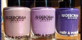 Deborah Pret A Porter: Lilac Seduction, Iris Bon Bon, '70 Grape Sweater