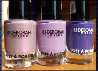 Deborah Pret A Porter: Lilac Seduction, Iris Bon Bon, '70 Grape Sweater