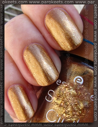 Essence Bondi Beach - BBC Golden Sands swatch by Parokeets