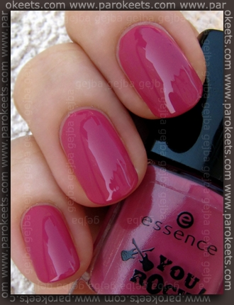 Essence You Rock LE - Let Me In Pink swatch