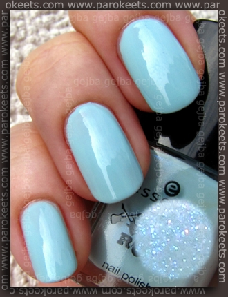Essence You Rock LE - Speed Of Light Blue swatch