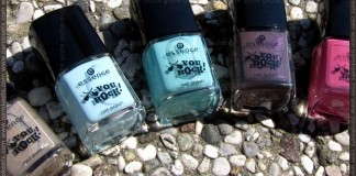 Essence You Rock! LE nail polishes by Parokeets