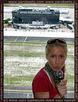 Maestra at the Daytona International Speedway - Nascar USA 2011