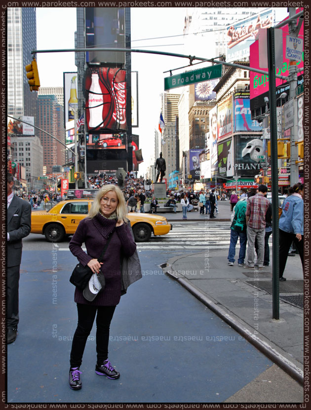 Maestra in New York City - USA 2011 (Times Square)