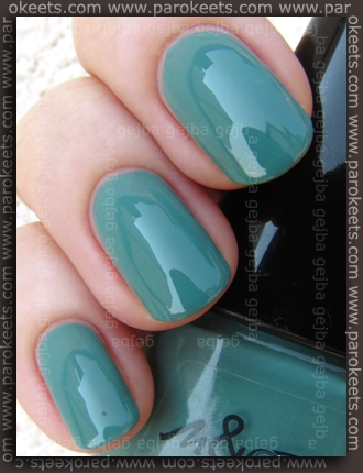 Manhattan And Buffalo Collection nail polish - 87J swatch by Parokeets