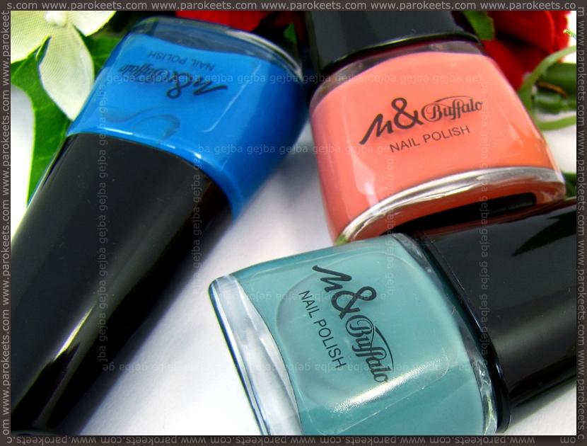 Manhattan And Buffalo Collection nail polish