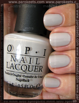Swatch: OPI: Pirates of the Caribbean - Skull & Glossbones