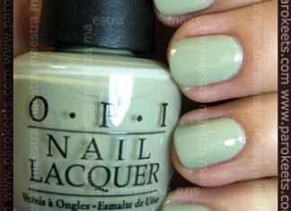 Swatch: OPI: Pirates of the Caribbean - Stranger Tides