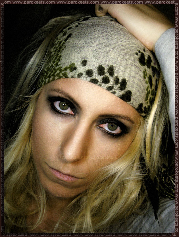 Pirates Of The Caribbean inspired make up look by Maestra
