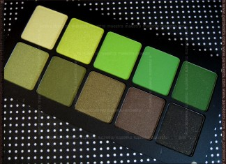 USA 2011 Haul: Inglot Freedom System square palette