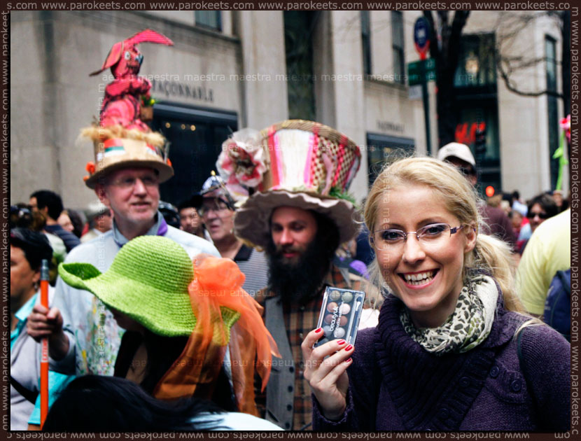 Adventures of a Beauty UK Earth Child palette: Easter Parade on the 5th Avenue, NYC