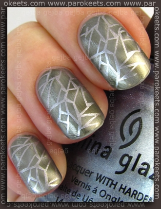 Alessandro Spacey Grey + China Glaze Sci-Fi, Bundle Monster IP 208
