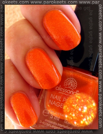 Alessandro Beach Beauty LE - Long Island Ice Tea swatch by Parokeets