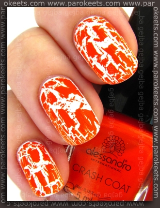 Alessandro Go Magic! Wild Crash - Crash Coat Orange swatch by Parokeets