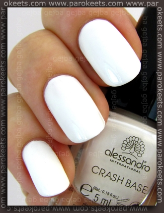 Alessandro Go Magic! Wild Crash orange set - Crash Base White swatch